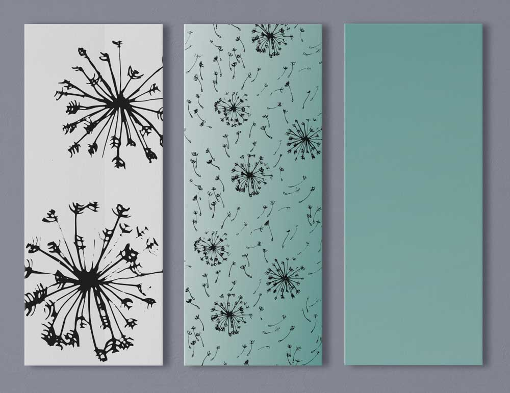 Illustration und Design Hamburg/muster/Pusteblume