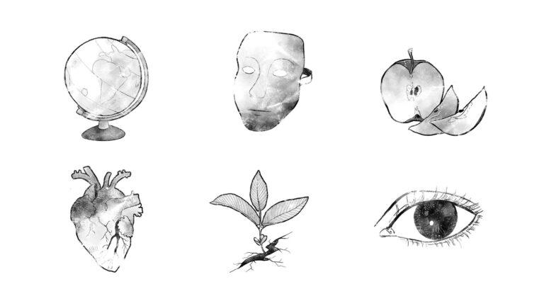 Illustration und Design Hamburg/Artwork/Illustration/Mute Parrot Vignetten/amvspreckelsen
