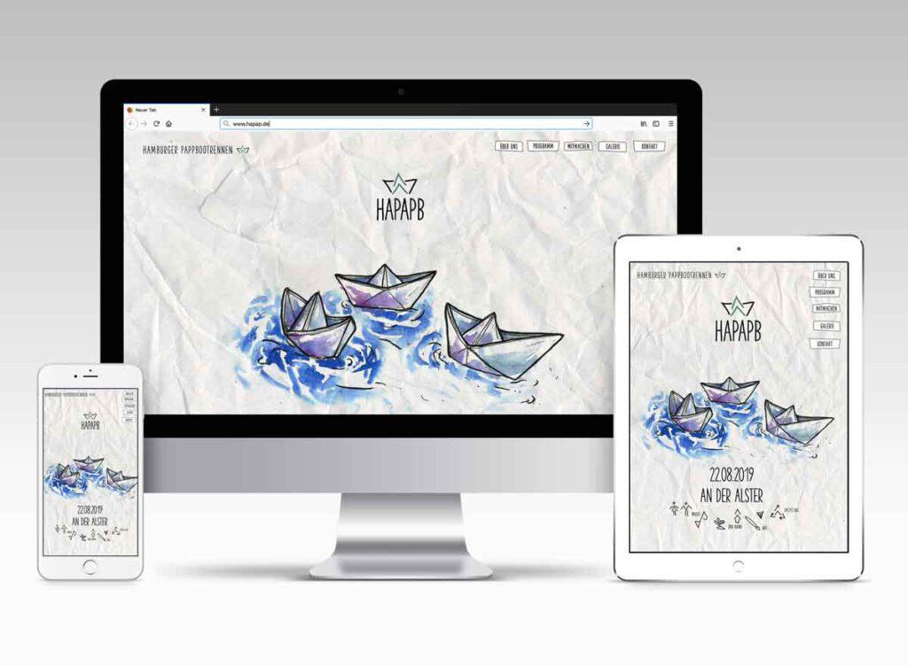 Illustration und Design Hamburg/Corporate Design/Website