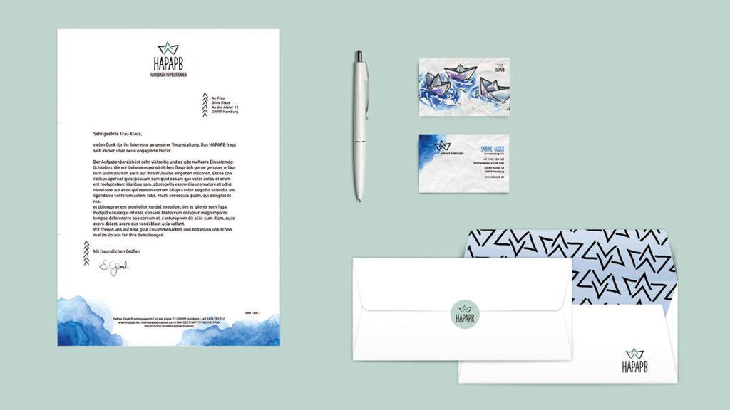 Illustration und Design Hamburg/Design/Corporate Design/HAPAPB/amvspreckelsen