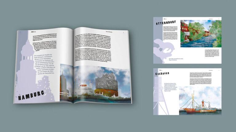 Illustration und Design Hamburg/Design/Editorial/Fanzine Norddeutschland/amvspreckelsen