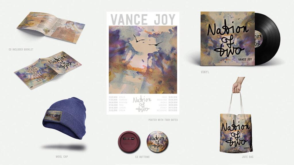 Illustration und Design Hamburg/Design/Artwork Vance Joy/amvspreckelsen